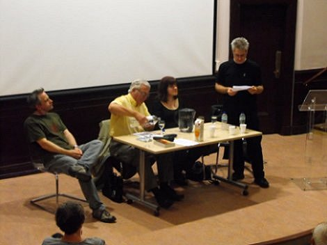 Conrad Williams, Ramsey Campbell, Marie O'Regan and Paul Kane