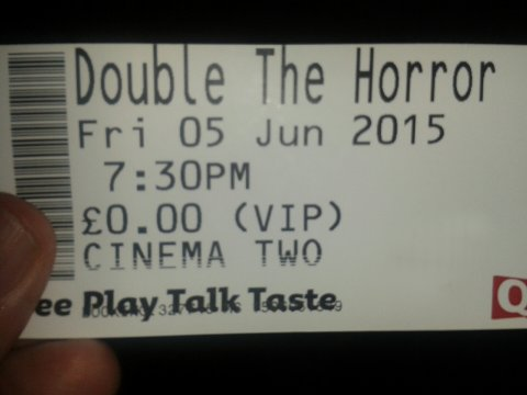 Double the Horror Event, Derby Quad, 5th June 2015