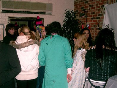 Dread Halloween party