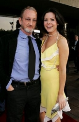 Robert Englund and Christa Campbell