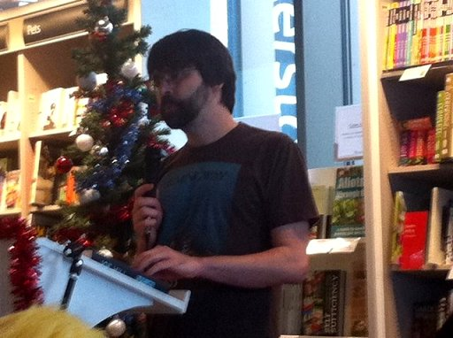 Joe Hill reading at Waterstones, Liverpool One