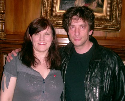 Marie O'Regan, Neil Gaiman
