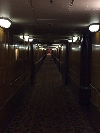 Corridor, The Queen Mary, StokerCon 2017