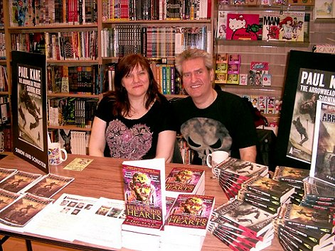 Marie O'Regan, Paul Kane, Hellbound Hearts signing
